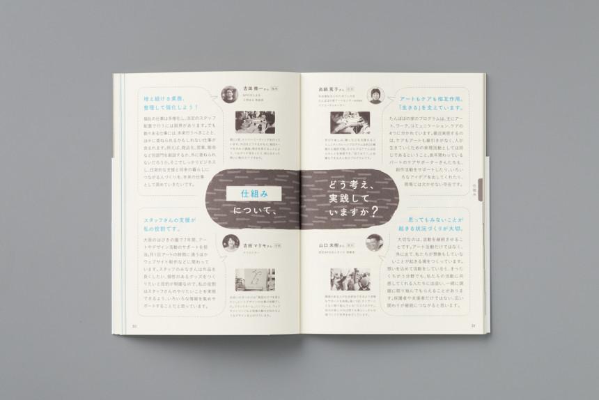 障害とアートの相談室「なやんで ひらいて 2歩すすむ」ためのハンドブック