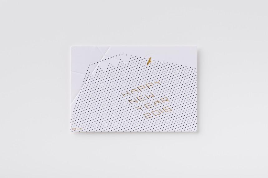 福永紙工|NEW YEAR CARD 2016